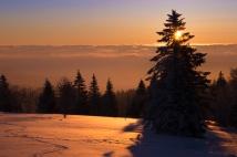 Sonnenaufgang am Kandel