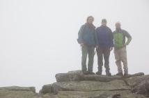 Das Steinbock-Kompetenzteam: Im Nebel vor großen Schwierigkeiten