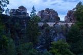 blaue Stunde an der Bastei