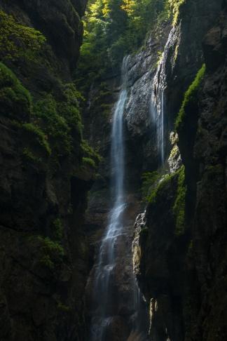 Wasserfälle in der Partnachklamm